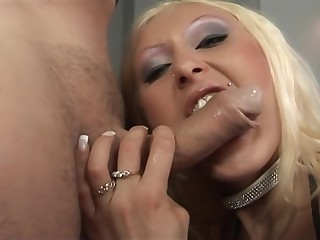 Amateur Blonde Nurse Assfucked Blowjob Anal Facial