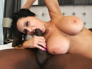 Shameless mature milf can't get enough of her black neighbor with big cock