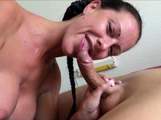 Texas Patti der Deutsche MILF Pornostar beim Fan Fick Treff