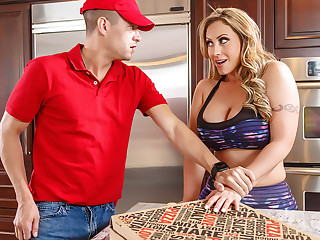 Eva Notty  Xander Corvus in ZZ Pizza Party: Part 1 - BrazzersNetwork