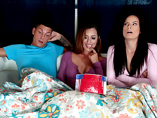 Alexis Deen & Isabel & Tyler Steel in Get Dick And Chill - MomsBangTeens