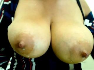 HOT Busty Blonde MILF Striptease and Fingering2016
