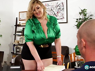 Amiee Roberts The BBW office pervert