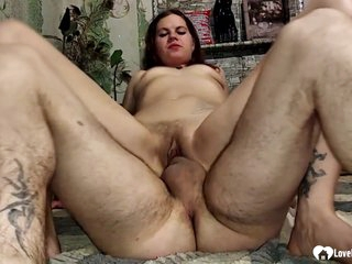 Anal sex loving babe is getting her daily dose of fuck and screaming during an orgasm