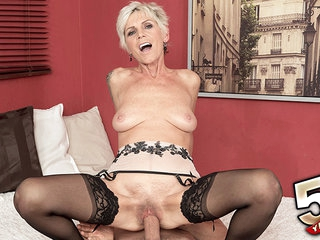 Nicol screams for cock cream - Nicol Mandorla and Kristof Cale - 50PlusMILFs