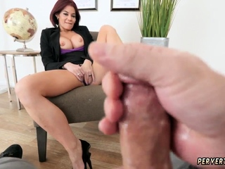 Teen slave hard and old licks first time Ryder Skye in
