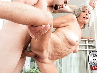 Silva Fucks Her Step-Son: Jmac - Silva Foxx And J Mac - 60PlusMilfs