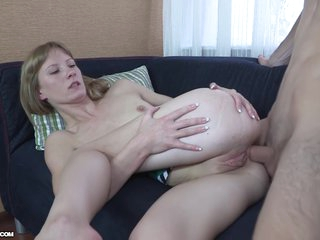 Sexy Blonde Stranger Agrees To Try Anal