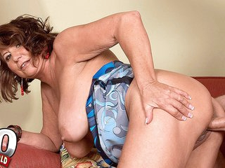 Not-So-Desperate Housewife - Suzie Wood And Tony Rubino - 60PlusMilfs