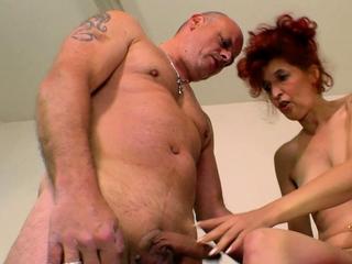 german ugly skinny mature redhead housewife