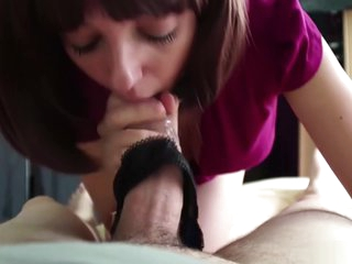 Step-mom teach step-son how to fuck her ass #anal creampie #sodomy