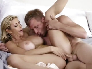 Hot StepMom Fuck With Her StepSon