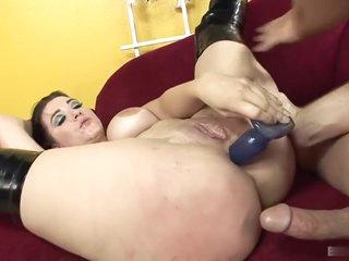 Busty Slut Takes Hardcore On Casting