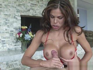 Big Tit Macy Plays With A Big Cock