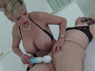 Unfaithful british milf lady sonia pops out her large titties