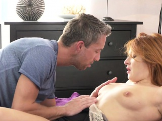Redhead Milf bangs in different positions
