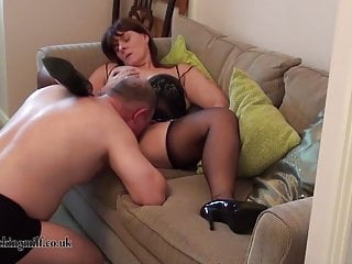 Full Fashioned Stocking Pussy licking